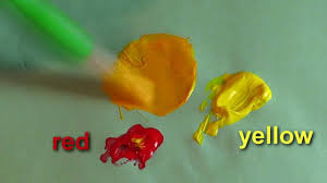 simple color mixing for children mixing colours in english
