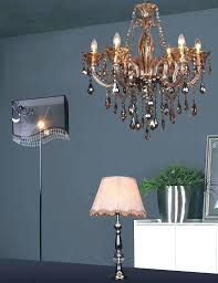 Chandelier Lamp Shades With Crystals Table Lamp Crystal Chandelier Table Lamp With Drum Shade Pink