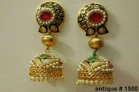 bridal jhumka earrings indian wedding jhumka earrings indian bridal jewellery designs