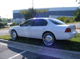 nissan maxima with rims just installed 20