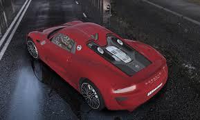 Porsche 918 Red - city car driving topic 2014 porsche 918 spyder 1 5 4 1 2