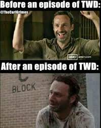 Walking Memes - walking dead meme 017 before and after twd comics and memes