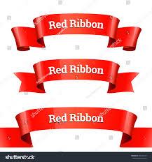 paper ribbons ribbons set realistic glossy paper stock vector 696394135
