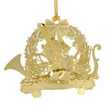 gold plated christmas ornaments siegel jewelers