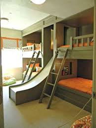 Make Bunk Beds Bunk Bed Slide Diy Bunk Bed With Desk And Stairs Slide Pretty