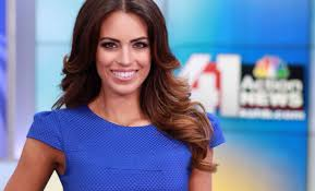 news anchor in la hair sporting kc hires kshb tv 41 action news reporter kacie mcdonnell
