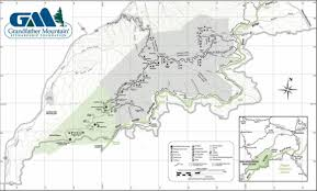 Indian Cave State Park Map by Hiking In Boone High Country The High Country