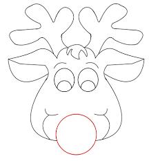 printable reindeer clipart 75