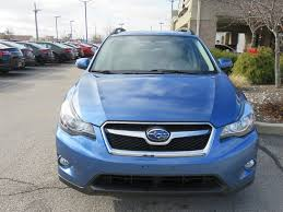 subaru crosstrek interior leather 2015 used subaru xv crosstrek 2 0 limited awd heated leather