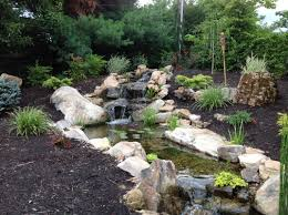 backyard waterfalls and streams outdoor furniture design and ideas