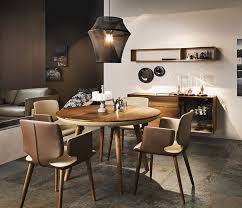 Decorative Armchairs Contemporary Wooden Dining Room Interior Focused On Ikea Stockholm