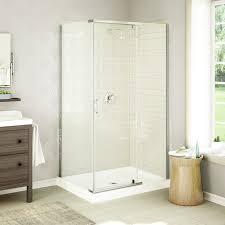 bathroom cozy bathtub with interior potted plant and corner