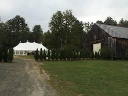 hulbert outdoor center fairlee vt tent wedding venues