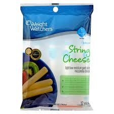 Light Mozzarella String Cheese by Upc 030900002644 Weight Watchers Mozzarella String Cheese Sticks