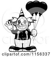 coloring pages of scary clowns royalty free rf scary clown clipart illustrations vector