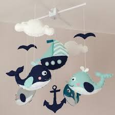 baby mobile crib mobile cot mobile nautical baby mobile zoom