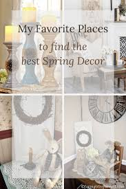 Favorite Places To Find Spring Decor
