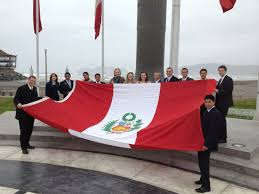 Lima Flag Love Our Missionaries Elder Avery Arrives In The Peru Lima West