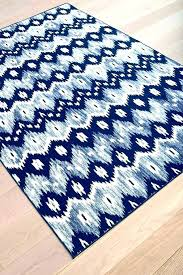 Blue And White Area Rugs Avaline Woven Cotton Blue White Area Rug Reviews Allmodern