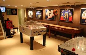 Family Game Room Home Design Ideas - Family game room decorating ideas