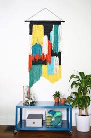 Basic Diy Loom And Woven by Fast Easy Large Tapestry Wall Hanging Diy U2014click Through For