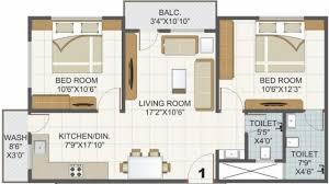 1000 Sq Ft Apartment by Aaditya Residency In Gotri Road Vadodara Flats For Sale In
