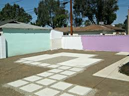 painting outdoor concrete walls lynda makara