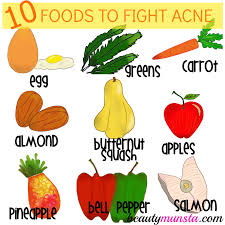 top 10 foods good for acne prone skin beautymunsta