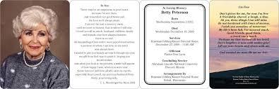 memorial card memorial cards