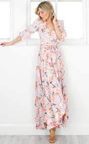 floral maxi dress cover me up maxi dress in floral showpo