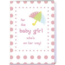 baby shower congratulations greeting card by