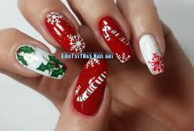 christmas new years nails three nail art designs for holidays 2