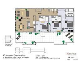residences condo floor plans 45 asheland asheville nc