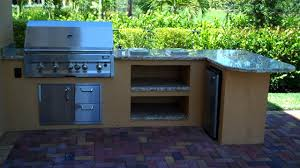 Outdoor Kitchen Countertops Ideas Custom Outdoor Kitchen And Bar Seating U2014 Gas Grills Parts
