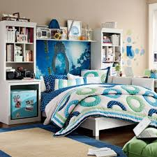 Bedroom Ideas For Teenage Girls Teal And Pink Furniture Teen Bed Room With Twin Bed Using Brown Frame With