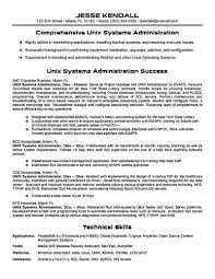 Senior System Administrator Resume Sample by Data Center Administrator Resume Resume For Your Job Application