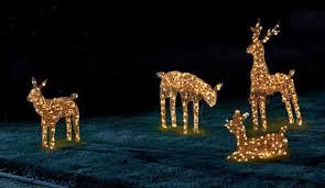 pictures of reindeer outdoor lights 21 remarkable