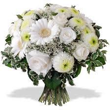fleurs blanches mariage fleurs blanches livraison de bouquets blancs 123fleurs