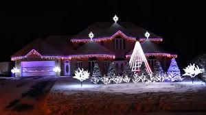 Christmas House Light Show by Bernier Christmas Lights Show Joy Christmas Mix 2014 Youtube
