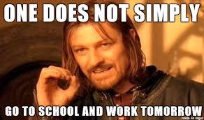 No School Tomorrow Meme - i m dreading tomorrow no matter who wins meme on imgur