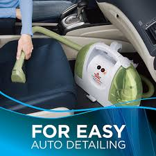 Vehicle Upholstery Cleaning Little Green Proheat Portable Carpet Cleaner Bissell