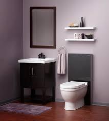 Gray Purple Bathroom - from tile to toilets 10 modern bathroom trends design milk