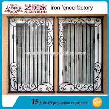 2016 latest modern simple iron window grill design for homes buy