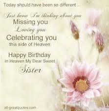 best 25 happy birthday sister in heaven ideas on pinterest