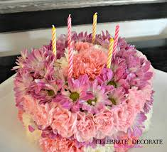 how to make cake how to make a floral birthday cake celebrate decorate
