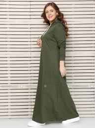 www modanisa size dress khaki alia