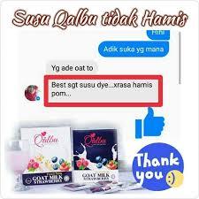 Minyak Qalbu qalbu goat milk strawberry stokis business service puchong 1