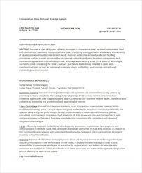 Store Manager Resume Template Store Manager Resume 9 Free Pdf Word Documents Download Free