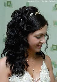 Hochsteckfrisuren Braut Locken by Opulente Braut Frisur Mit Halb Gesteckten Locken Braut Frisuren