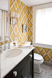 Wallpaper Bathroom Designs Comfortable Guest Baths Southern Living
